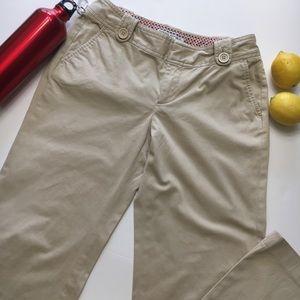 Banana Republic Martin Fit Pants, Khaki, sz 2